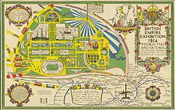 British Empire Exhibition, 1924 Wembley Park